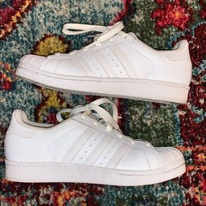 adidas Shoes - Adidas- white superstar ⭐️